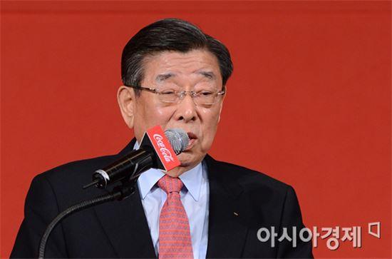 김운용 전 IOC 부위원장[사진=정재훈 기자]