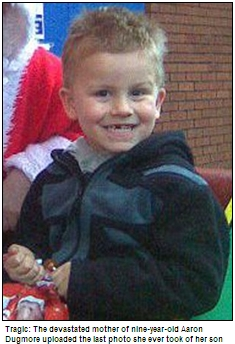 ▲ 영국에 사는 9살 소년이 왕따에 시달리다 스스로 목숨을 끊었다.(출처: 영국 데일리메일)