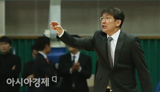임달식 안산 신한은행 감독[사진=정재훈 기자]