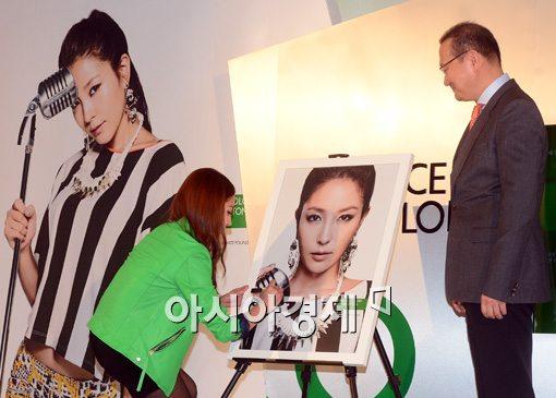 [포토]베네통 글로벌 캠페인 아시아의 얼굴 '보아'선정