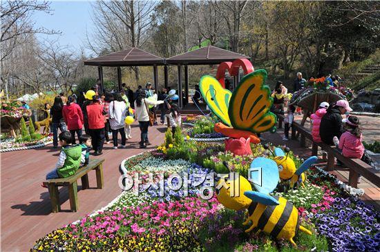 '목포 유달산 꽃 축제' 내달 6일 '팡파르'