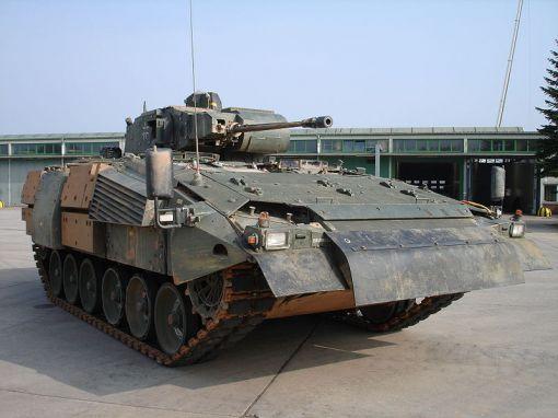 라이메탈이 생산하는 독일군의 차세대 보병전투장갑차량(IFV) 푸마