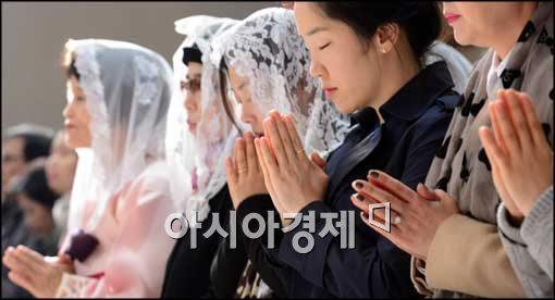 ▲오늘(20일) 부활절 연합예배.