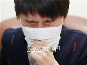 환절기 감기[사진= 온라인 커뮤니티 캡처]