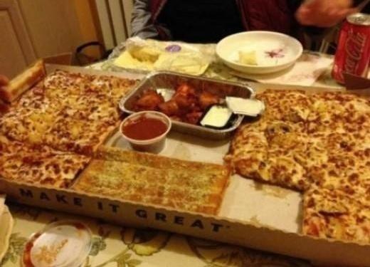 """간소한 미국식 피자 """"브랜드 알고보니…"""""""