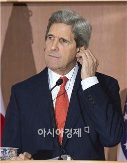 존 케리 미 국무부 장관.