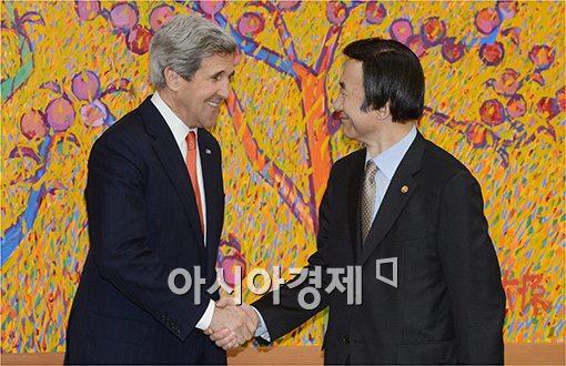 [포토]한·미 외교장관 회담