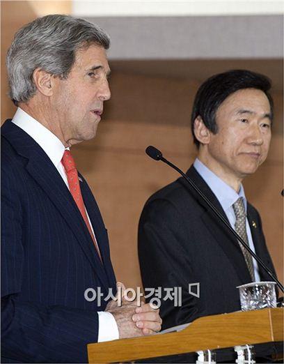 [포토]한·미 외교장관 공동 기자회견