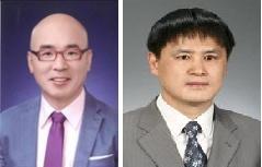 서울시 장애인인권 복지상 최우수상을 수상한 박마루·정창선씨(왼쪽부터)