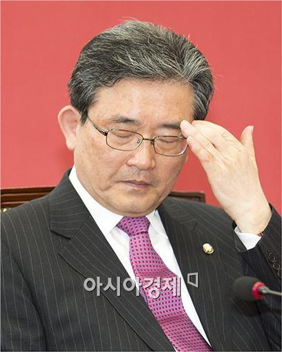 이한구 새누리당 공천관리위원회 위원장.