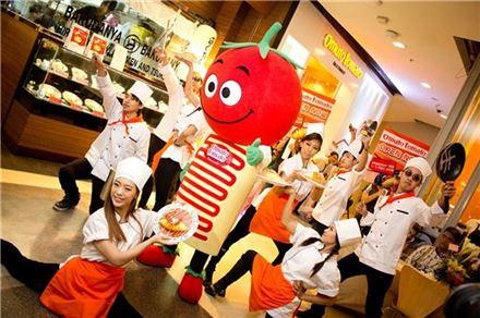 아모제푸드, 오므토 토마토 태국 2호점 오픈