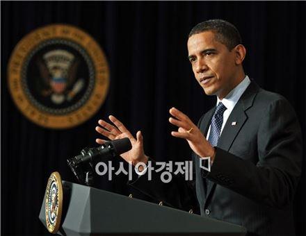 """오바마, """"러시아, 우크라이나 군사개입 강력 경고"""""""