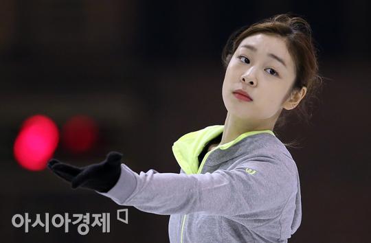 김연아, 마지막 국내대회 대비 새해 첫 훈련