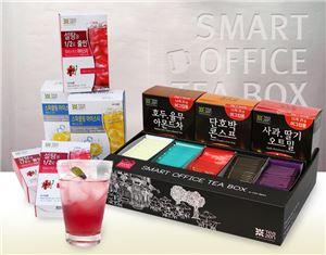 티젠, 茶 조달 서비스 '스마트 오피스 티박스' 출시