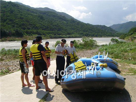 구례경찰, '물놀이 안전사고 ZERO화' 도전