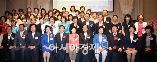 [포토]한국여성경제인협회 광주ㆍ전남지회 창립 14주년 기념