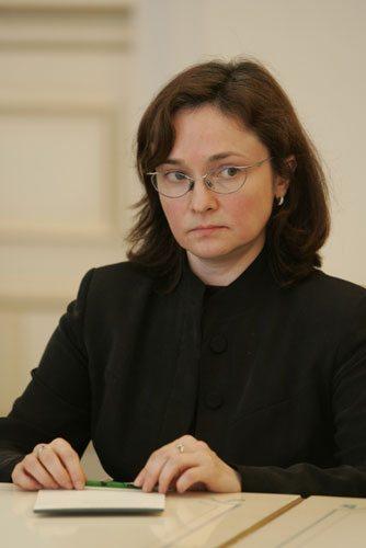 엘비라 나비율리나 러시아 중앙은행 총재