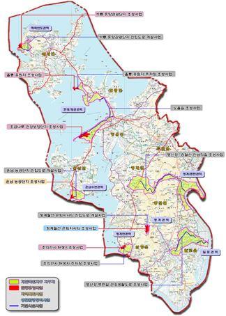 무안 개발촉진지구 지정 및 개발계획도. 출처:국토교통부