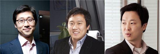 김범석 쿠팡 대표, 신현성 티몬 대표, 박은상 위메프 대표(왼쪽부터)