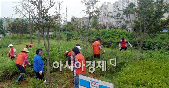광주시 광산구 하남동 '진공청소기' 출동