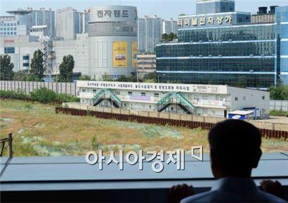 용산 철도정비창 부지