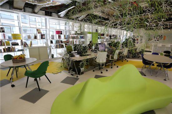 영국 런던에 위치한 삼성전자 유럽 디자인 연구소 전경.