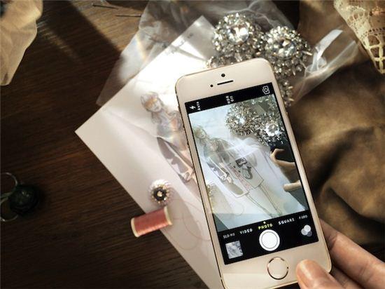 버버리도 반한 아이폰5S…애플 '명품 마케팅' 시동