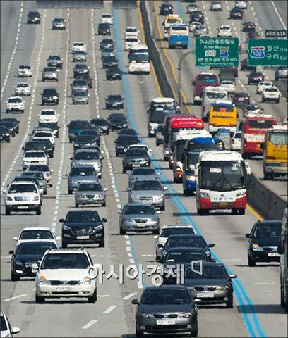 ▲고속도로 교통상황.
