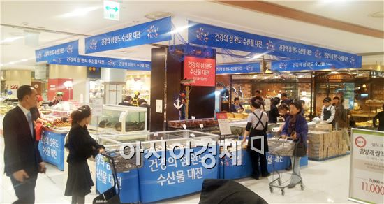 완도 수산물, 서울 잠실벌에 장터 펼친다
