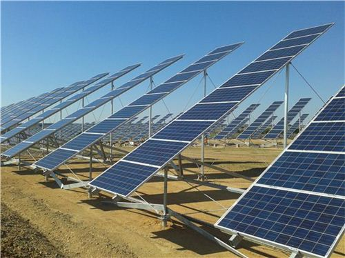 ▲태양광 발전소 전경
