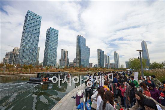 인천 송도 센트럴파크 … 테마상권으로 급부상