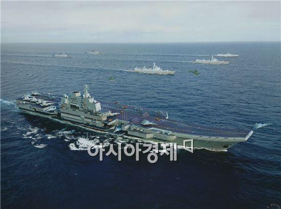"""""""中 권익보호 위해 항모 3척돼야'-中해군군사학술연구소"""