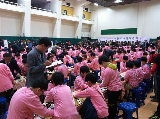 티브로드 '제1회 어린이 바둑 대축제' 성황