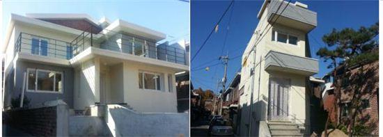 서울시는 도봉구 방학동 소재 단독주택 393-16(좌), 394-11(우) 두 채를 매입, 리모델링해 1~2인 가구를 대상으로 첫 셰어하우스형 공공임대주택을 공급한다.