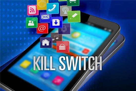 ▲스마트폰 도난방지기술 '킬스위치'가 신규 스마트폰에 도입된다.