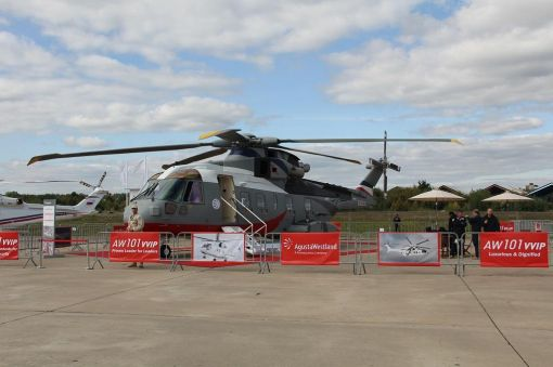 오거스타웨스트랜드의 중대형 헬기 AW101