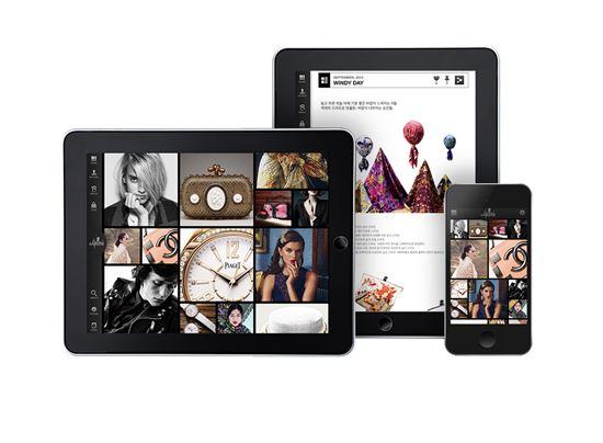 갤러리아百, 디지털 매거진 '앱' 출시