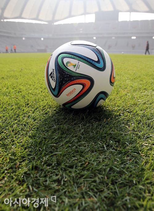 브라질 월드컵 공인구 브라주카[사진=아시아경제 DB]