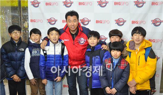 KIA 타이거즈, 차영화코치· 김동재 前 코치 돕기 일일호프 성료