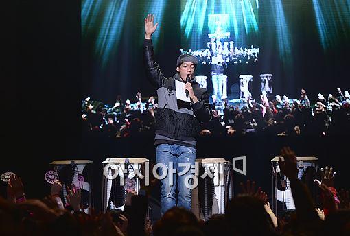 [포토]박재민, '소리질러~'