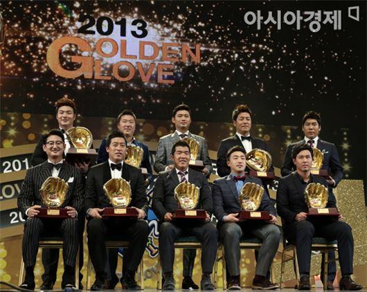 지난해 각 포지션별 골든글러브 수상자들[사진=아시아경제 DB]
