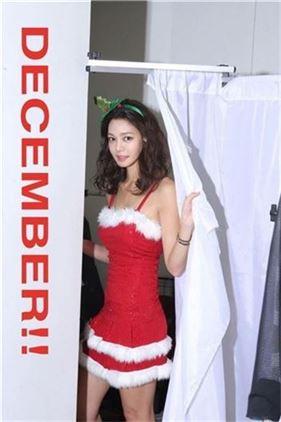 김민준 연인 안현모, '이렇게 섹시한 산타 봤어?'