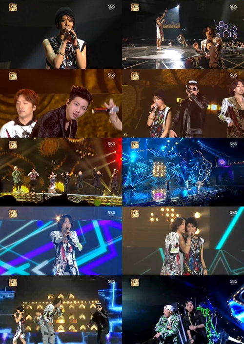 [SBS가요대전]MFBTY, 한바탕 힙합 축제… '가요대전'이 '들썩!'