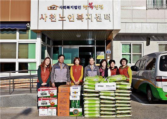 한국항공우주산업, 지역사회에 1천만원 상당 쌀 전달