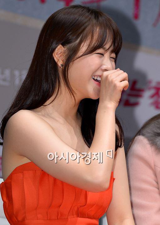 [포토]박보영, 웃음을 참을 수 없어!