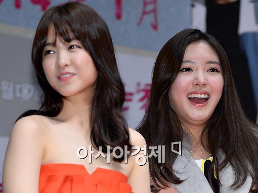 [포토]박보영-이세영, 빵 터진 두 여배우