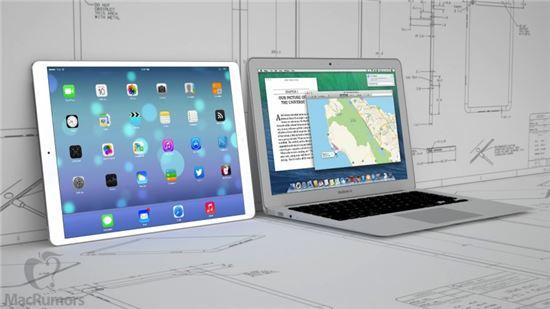 맥루머스는 애플이 내년 12.9인치 화면을 탑재한 '아이패드 프로(또는 아이패드 맥시)'를 출시할 것으로 전망했다.