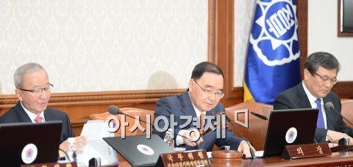 [포토]2013년 마지막 국무회의 주재하는 정홍원 총리