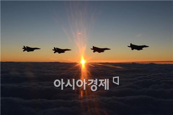 F15K 탑승… 갑오년 초계비행 해보니