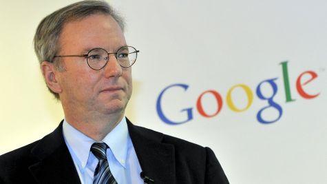 에릭 슈밋 구글 회장